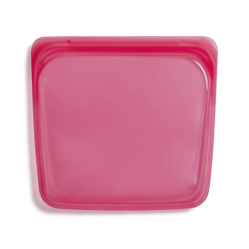 Stasher – Sandwich Bag 450ml Raspberry