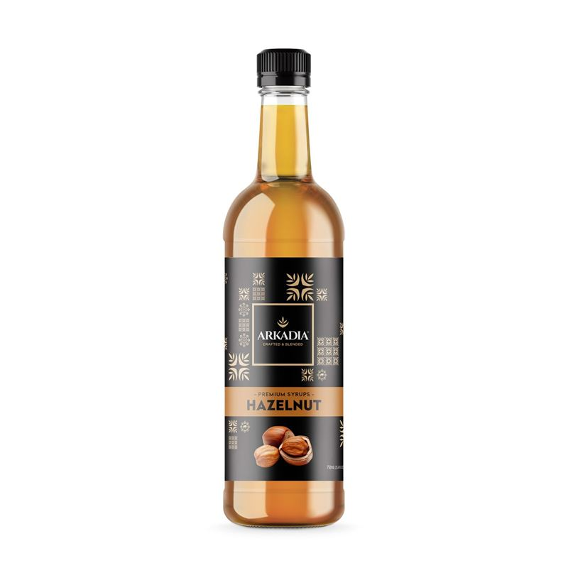 Arkadia – Hazelnut Syrup 750ml (Made in Australia)