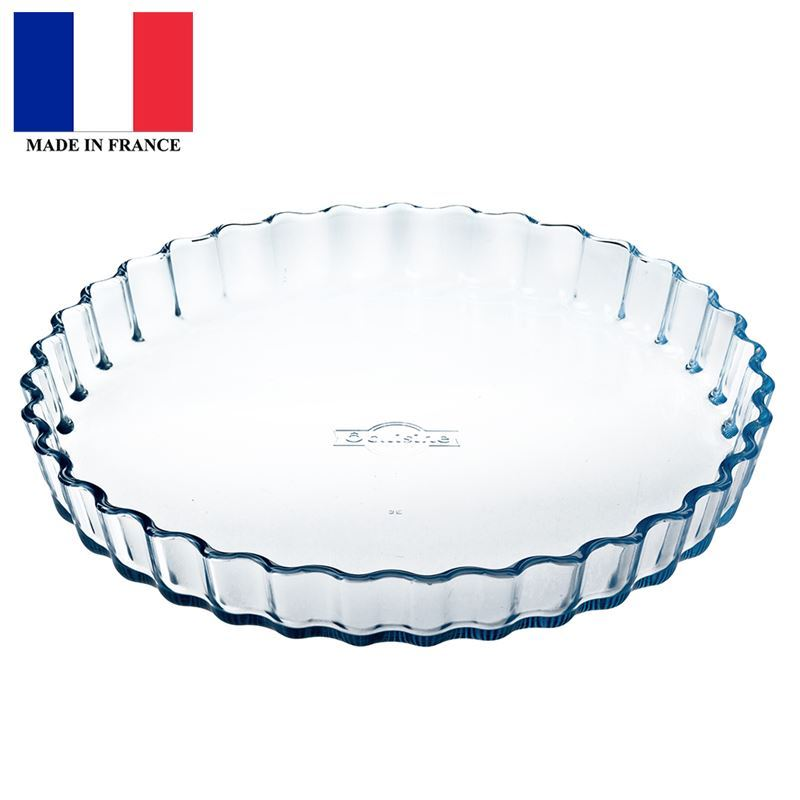 O'Cuisine – Flan Dish 27cm (Made in France)