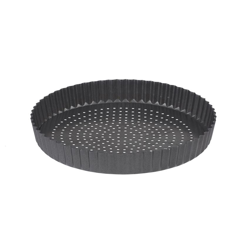 Masterpro – CrispyBake Non-Stick Loose Base Round Flan/Quiche 24cm