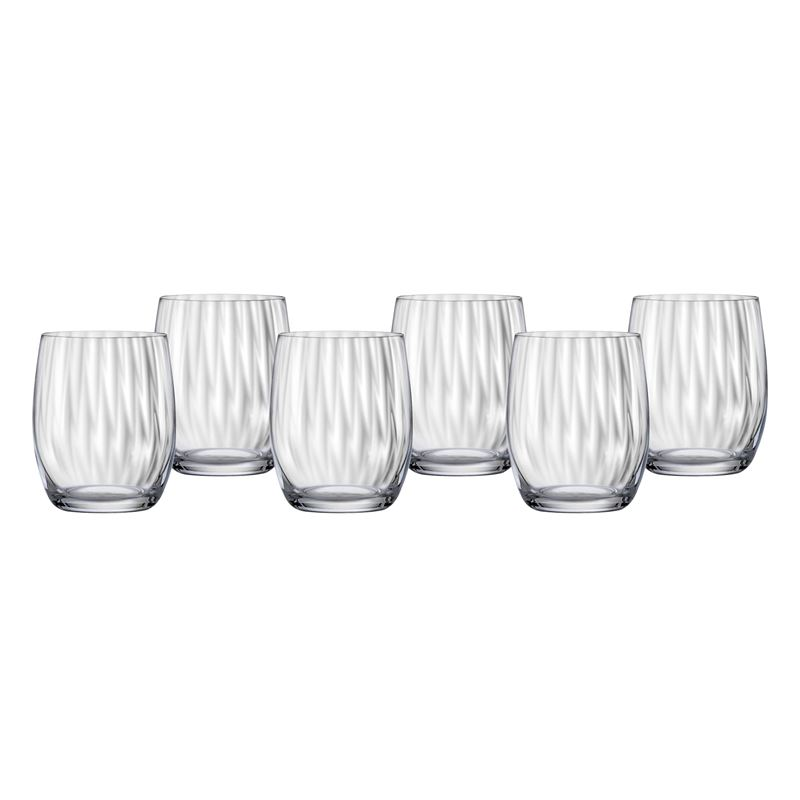 Bohemia – Waterfall Old Fashioned  300ml Set of 6 (Made in the Czech Republic)