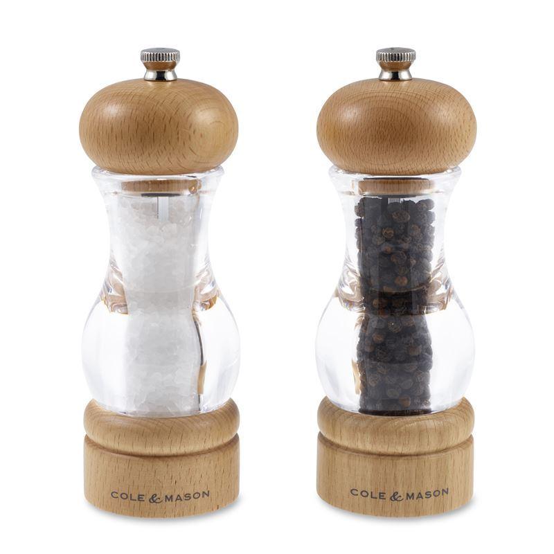 Cole & Mason – 105 Beechwood Salt and Pepper Grinder Set