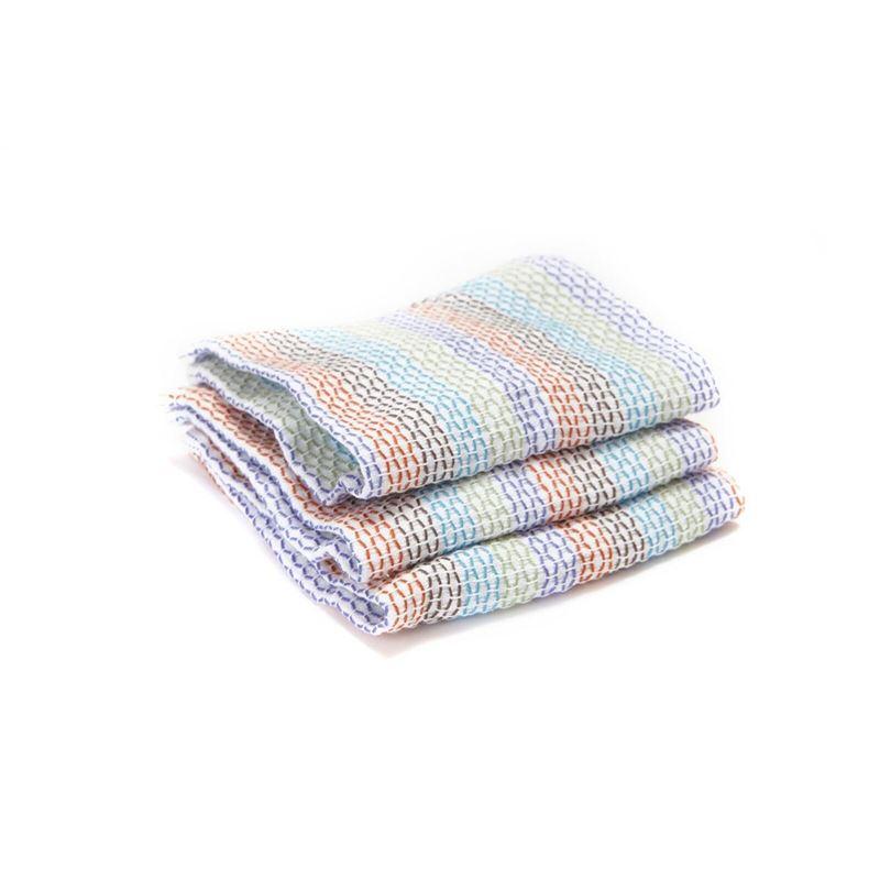 Full Circle – Tidy Dish Cloth 30x30cm Multi set of 3
