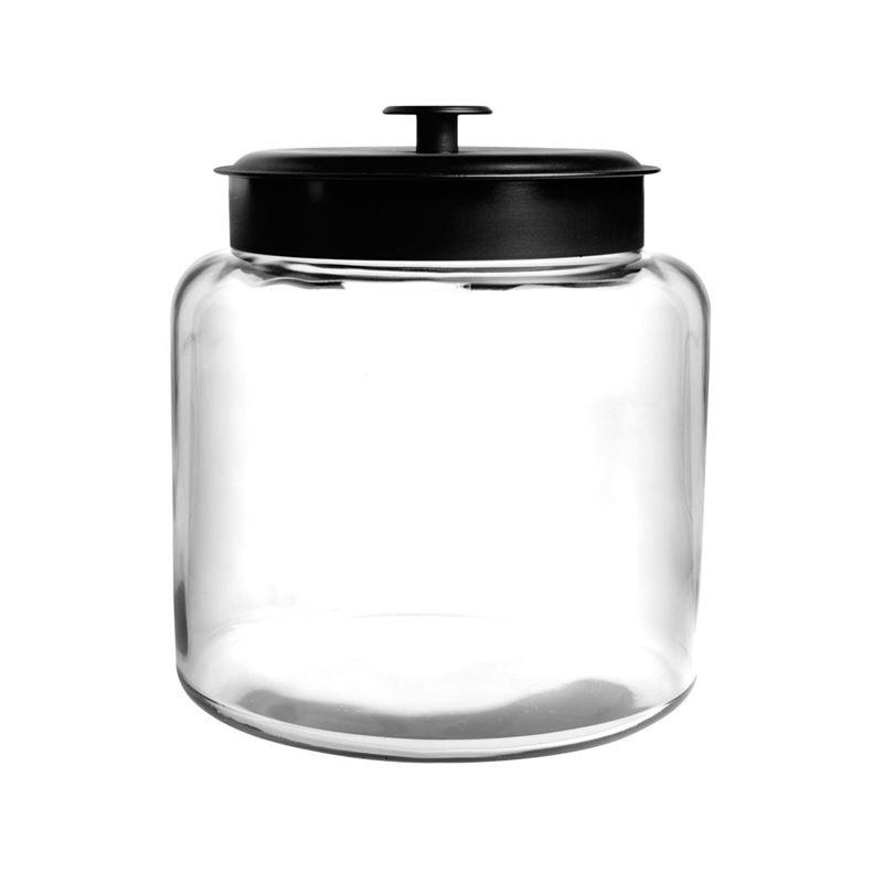 Anchor Hocking – Montana Jar with Black Lid 25×17.5cm 5.7Ltr