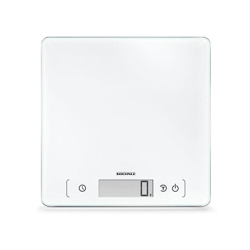 Soehnle – Page Comfort 400 Digital 10kg Kitchen Scale White