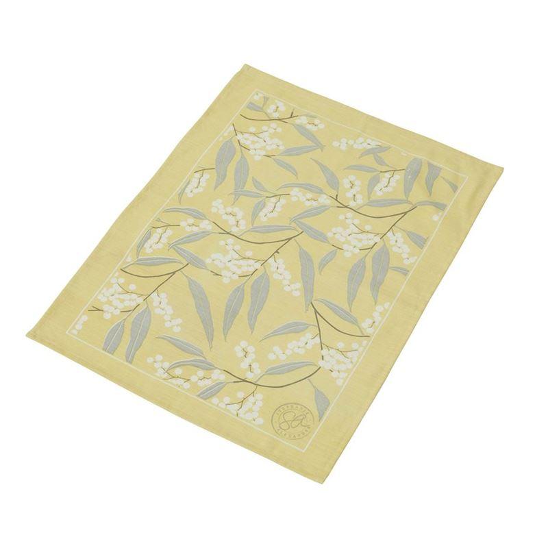 Stephanie Alexander – Wattle Cotton & Linen 52x72cm Tea Towel