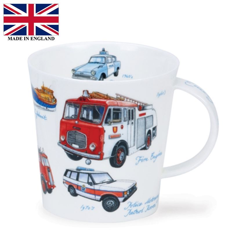 Dunoon – Cairngorm Bone China Mug 480ml Emergency Services (Made in England)