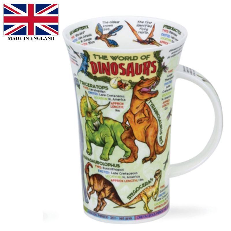 Dunoon – Glencoe Bone China Mug 500ml World of Dinosaurs (Made in England)