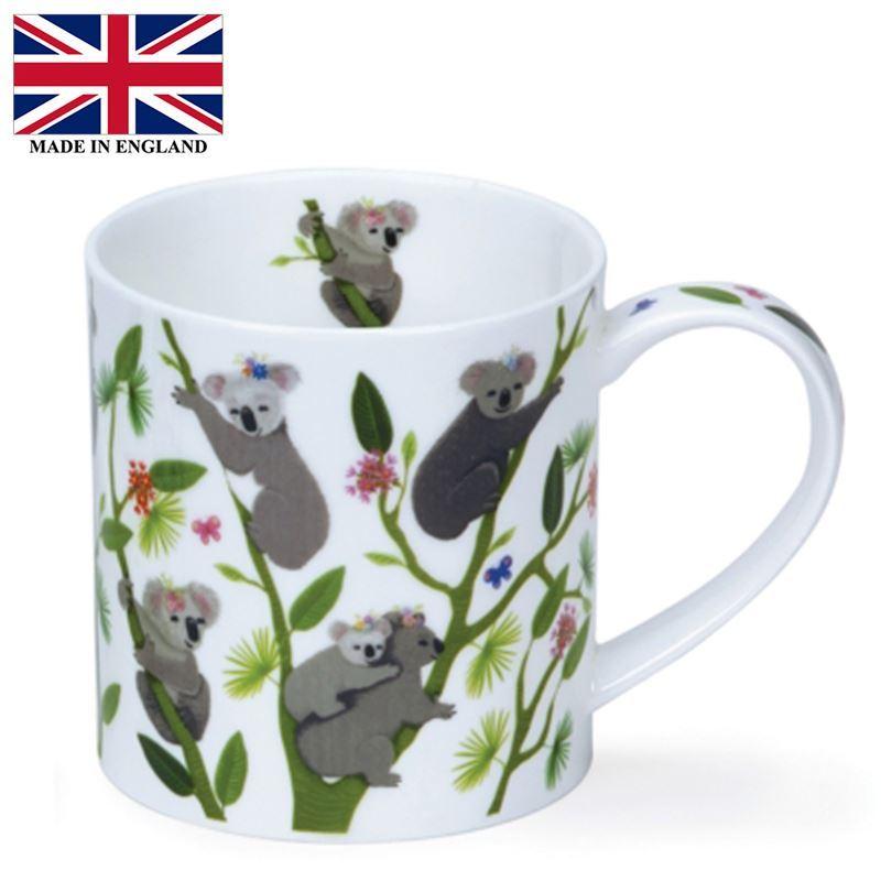 Dunoon – Orkney Bone China Mug 350ml Hanging Out Koalas (Made in England)