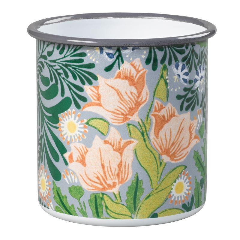 V & A – William Morris All Purpose Enamel Pot 11x12cm
