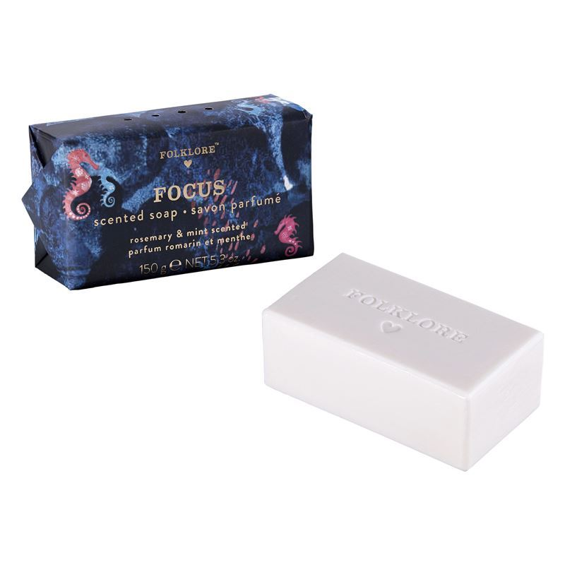 Folklore – Scented Soap Bar 150gm Focus