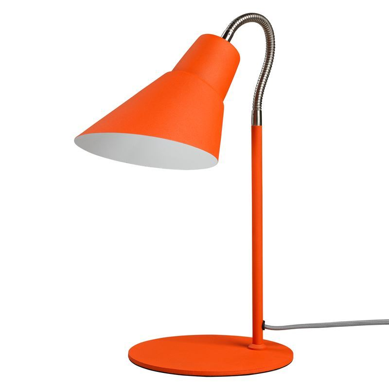 Wild & Wolf – Gooseneck Lamp Goldfish Orange 39cm
