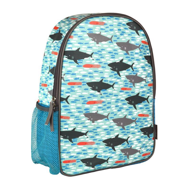 Petit Collage – Eco Friendly BPA and PVC Free Backpack Sharks