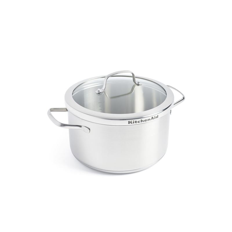 KitchenAid – Professional Stainless Steel Induction 24cm Casserole 5.7Ltr
