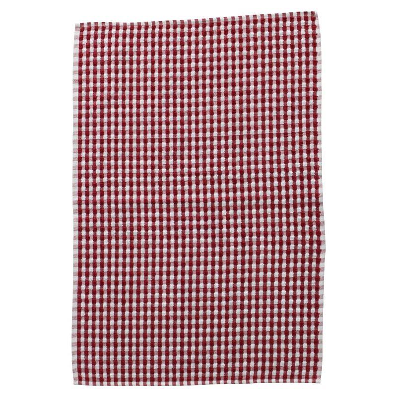 Zuhause – Honeycomb Terry Tea Towel Red 45x70cm