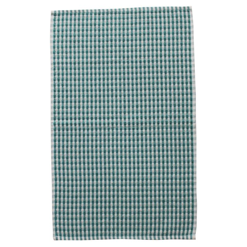 Zuhause – Honeycomb Terry Tea Towel Teal 45x70cm