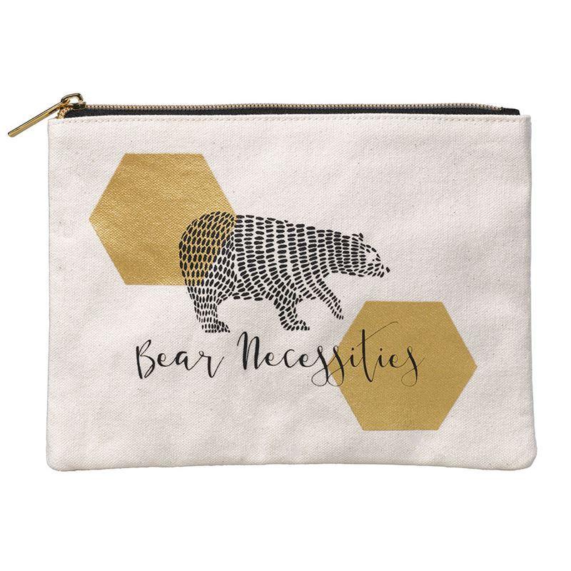 Folklore – Medium Zippered Pouch Bear Necessities