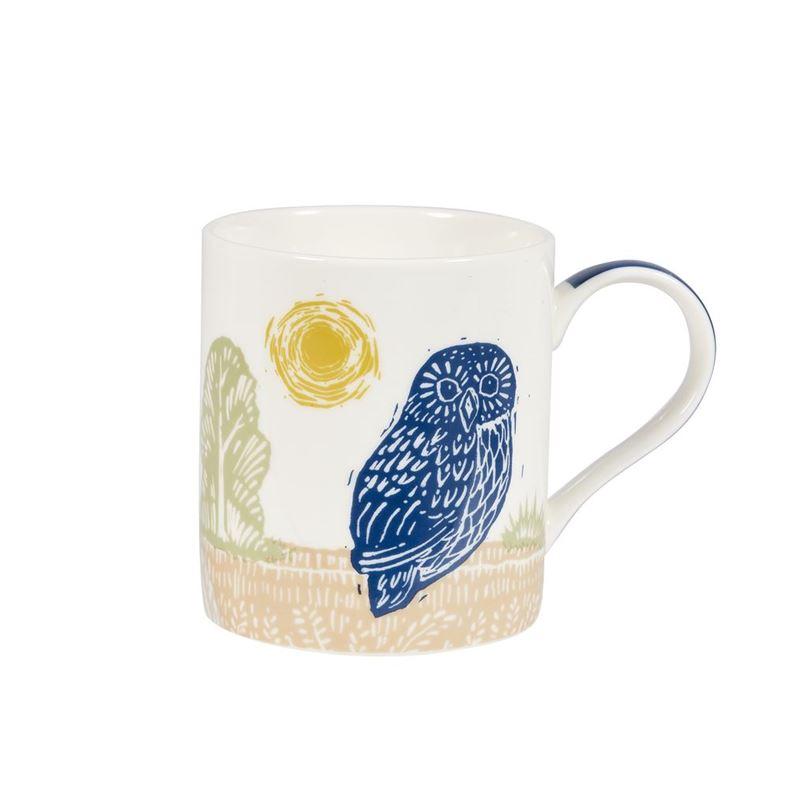 Queens by Churchill – Woodcut Birch Mug Owl 350ml