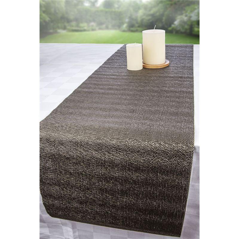 Ogilvies Designs – Tex Table Runner 30x120cm Cocoa