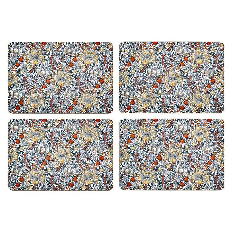 Nostalgic – Blue Lily Placemats 29×21.5cm Set of 4