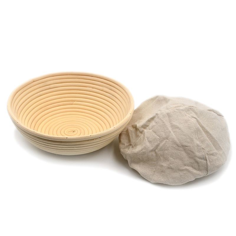 Brunswick Bakers – Round Banneton 20cm WITH LINING