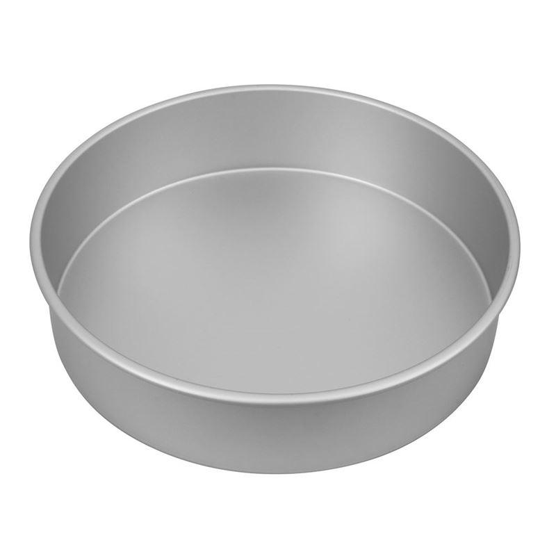 Bakemaster – Silver Anodised Round Cake Pan 30.5×7.5cm