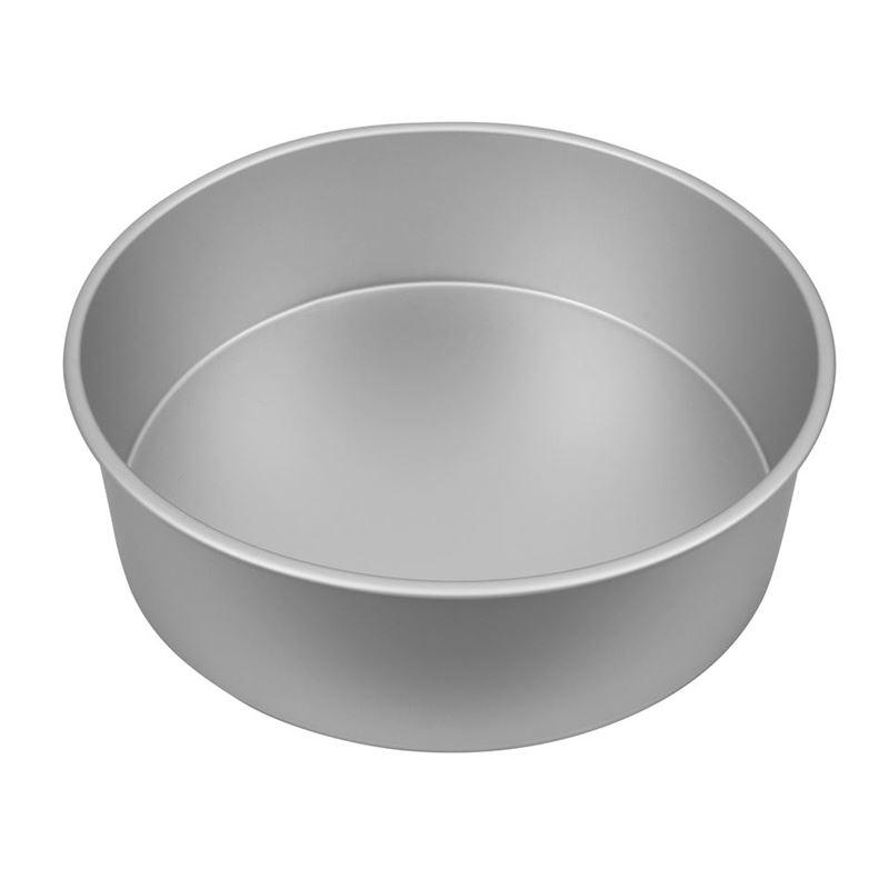 Bakemaster – Silver Anodised Deep Round Cake Pan 30.5x10cm
