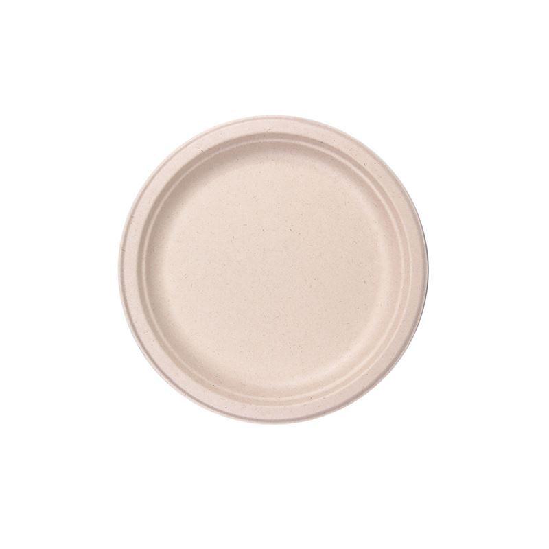 Eco Basics – Biodegradable Sugarcane 17cm Plate Pack of 10