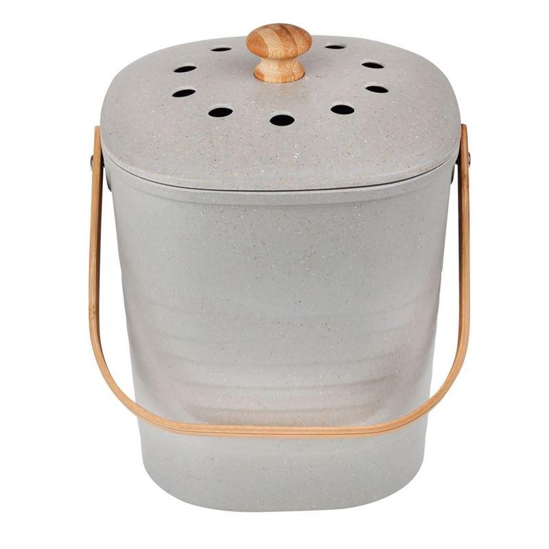 White Magic – Eco Basics Compost Kitchen Waste Bin 4Ltr Granite