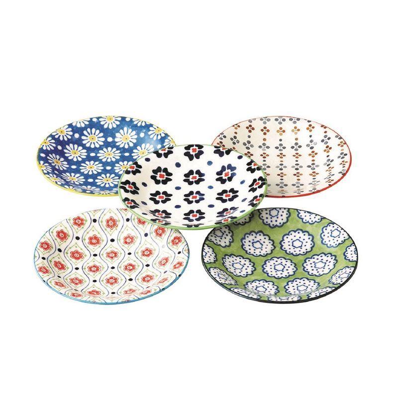 Goshiki by Noritake – Japanese Ceramics 12cm Plate Set of 5 (Made in Japan)