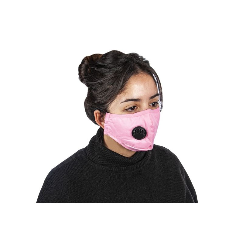 Fabric Fashion Face Mask Pink – Non-Medical