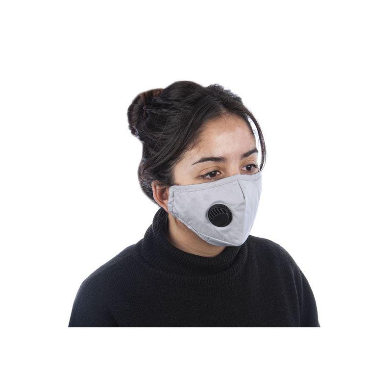 Fabric Fashion Face Mask Grey – Non-Medical