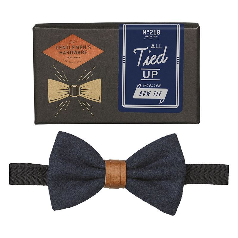 Gentleman's Hardware – All Tied Up Bow Tie Navy – Gift Boxed