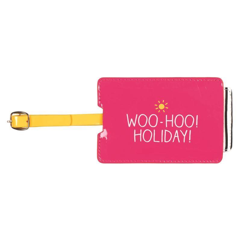 Happy Jackson – Luggage Tag Woo Hoo Holidays