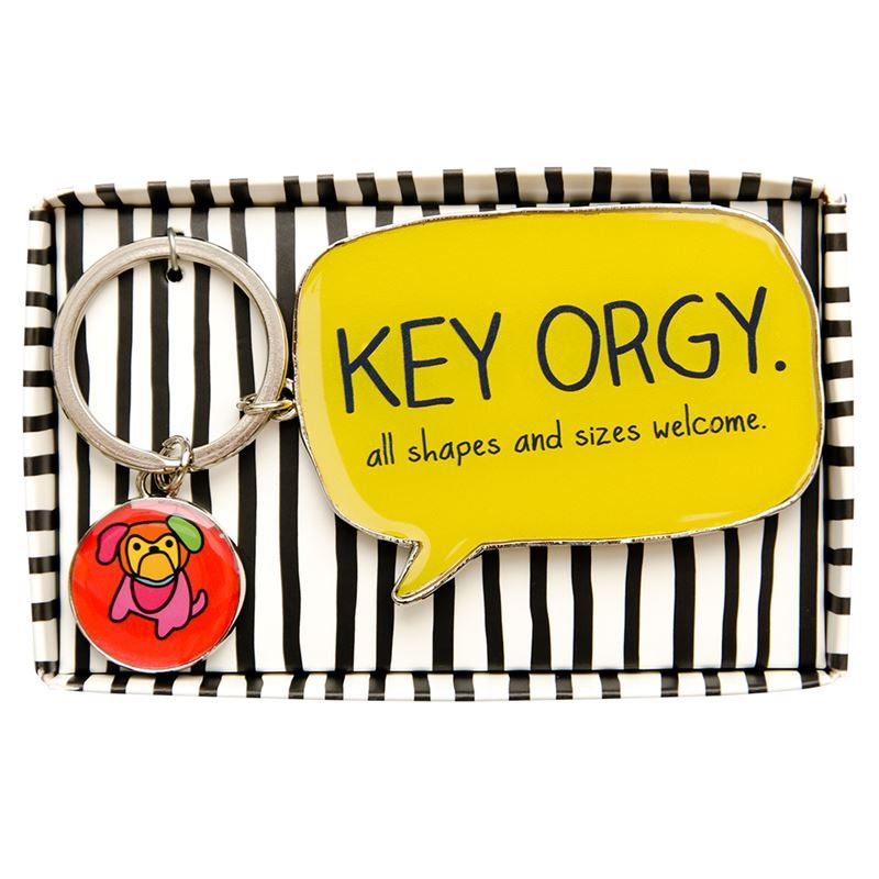 Happy Jackson – Keyring Key Orgy