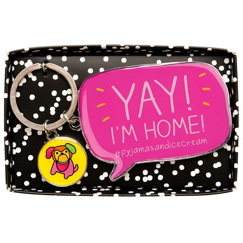 Happy Jackson – Keyring Yay I'm Home