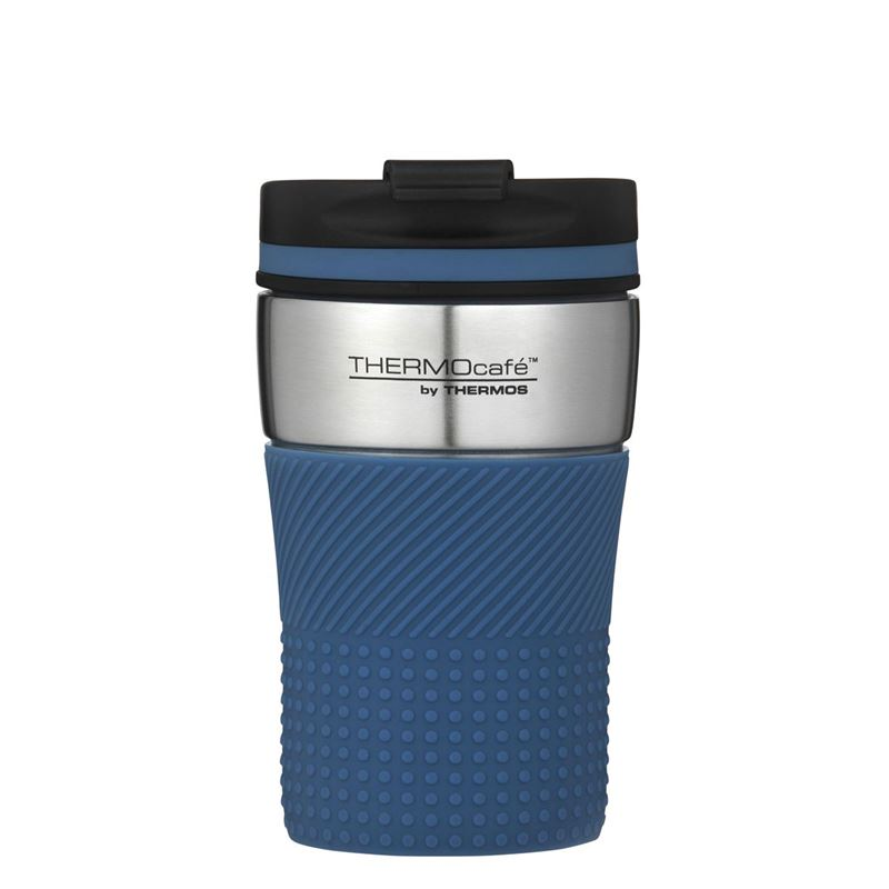 THERMOcafe™ by Thermos – Stainless Steel Vacuum Insulated Coffee Cup 200ml Dark Blue