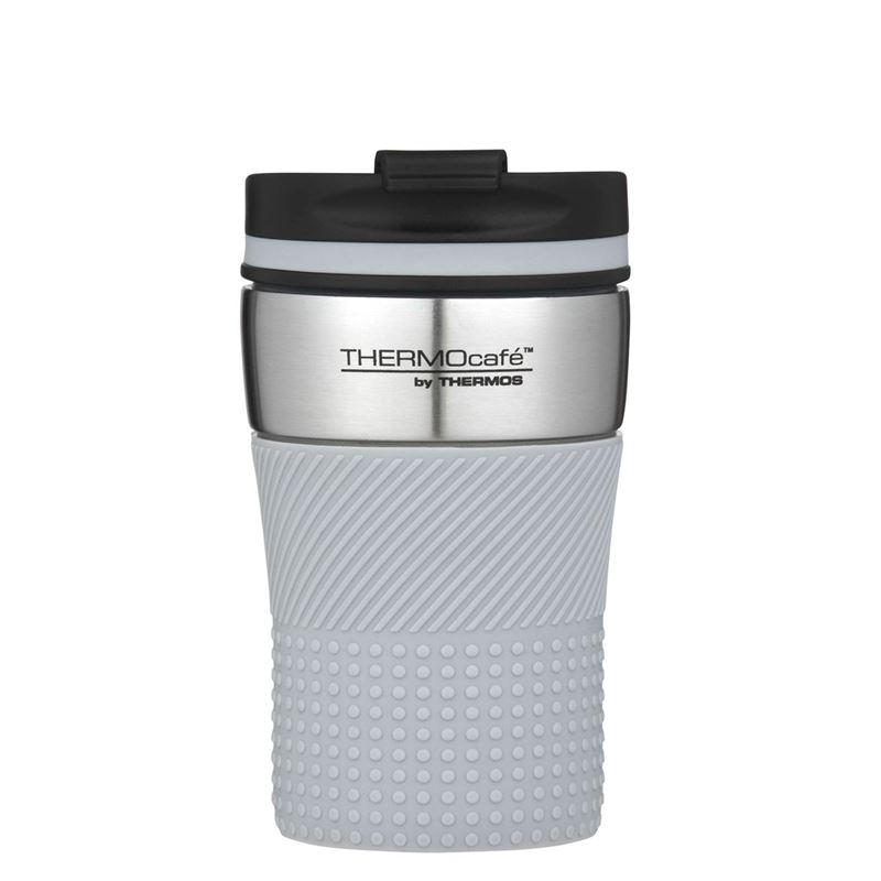 THERMOcafe™ by Thermos – Stainless Steel Vacuum Insulated Coffee Cup 200ml Grey