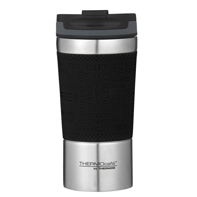 THERMOcafe™ by Thermos – Stainless Steel Vacuum Insulated Coffee Cup 350ml Black
