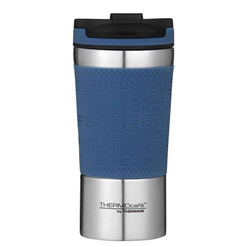 THERMOcafe™ by Thermos – Stainless Steel Vacuum Insulated Coffee Cup 350ml Dark Blue