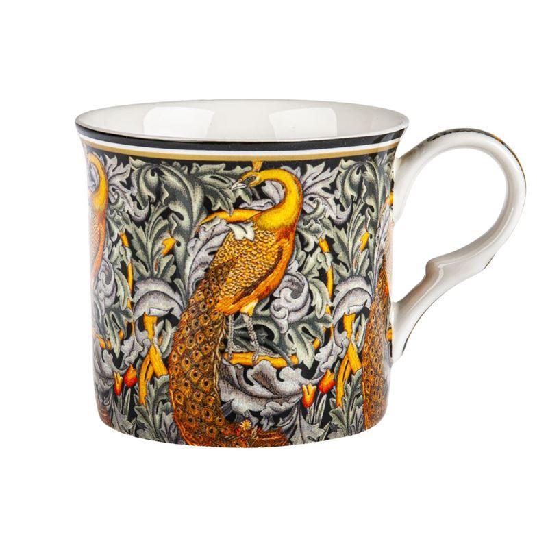 Heritage – Fine Bone China Palace Mug 300ml Peacock Tapestry