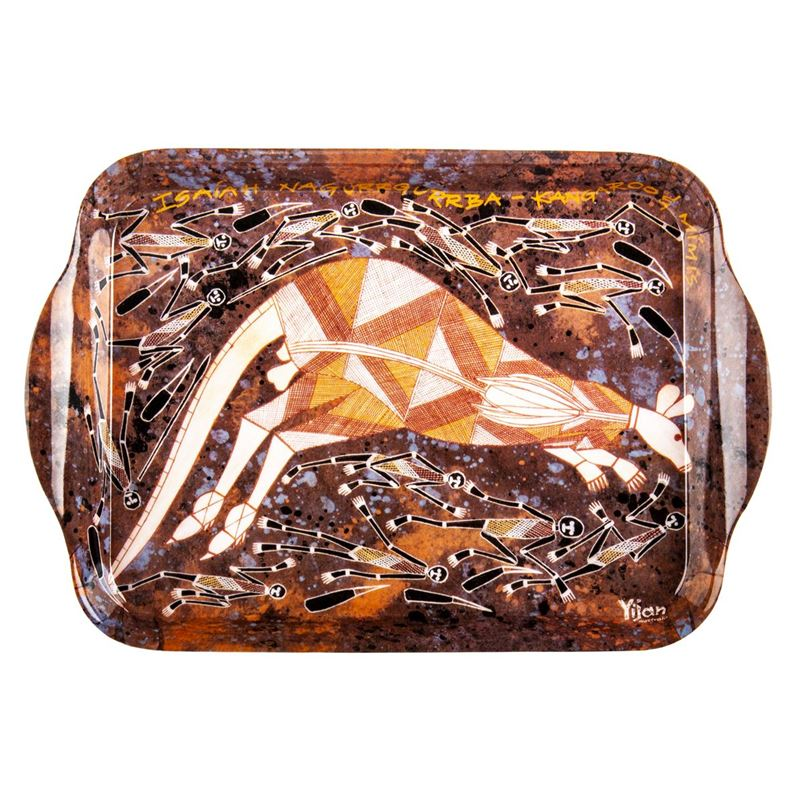 Cinnamon – Injalak Melamine Scatter Tray  20x15cm