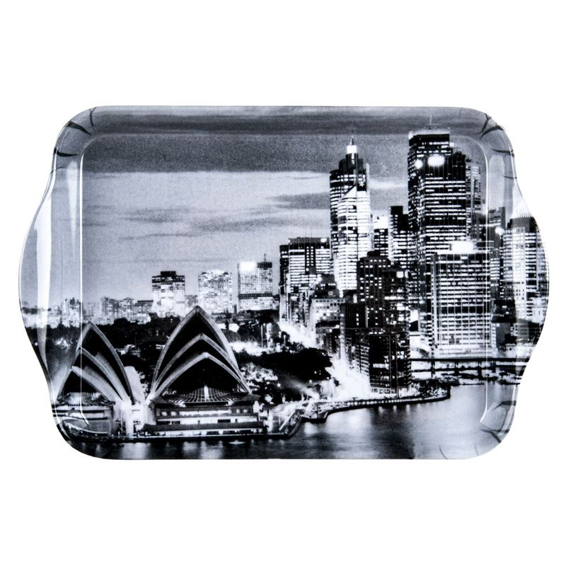 Cinnamon – Sydney Icons Melamine Scatter Tray 20x14cm