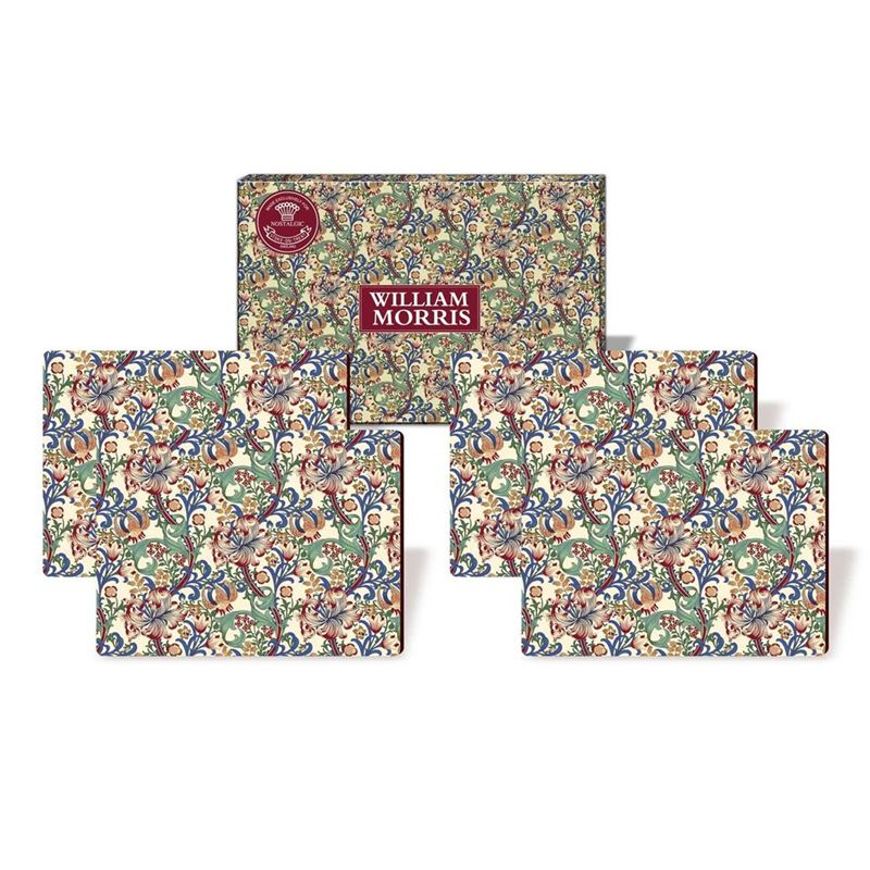 Nostalgic – Morris Lily Placemats 29×21.5cm Set of 4