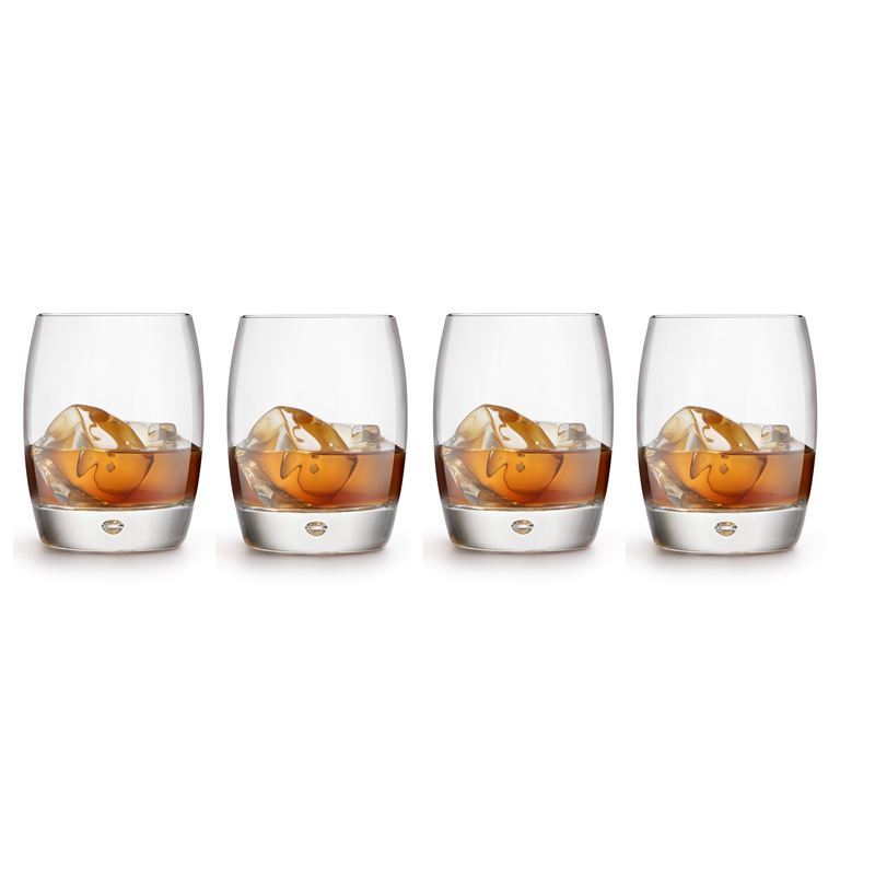 Royal Leerdam – Artisan 360ml Whisky Bubble Set of 4 (Made in Portugal)