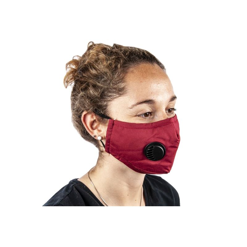 Fabric Fashion Face Mask Red – Non-Medical