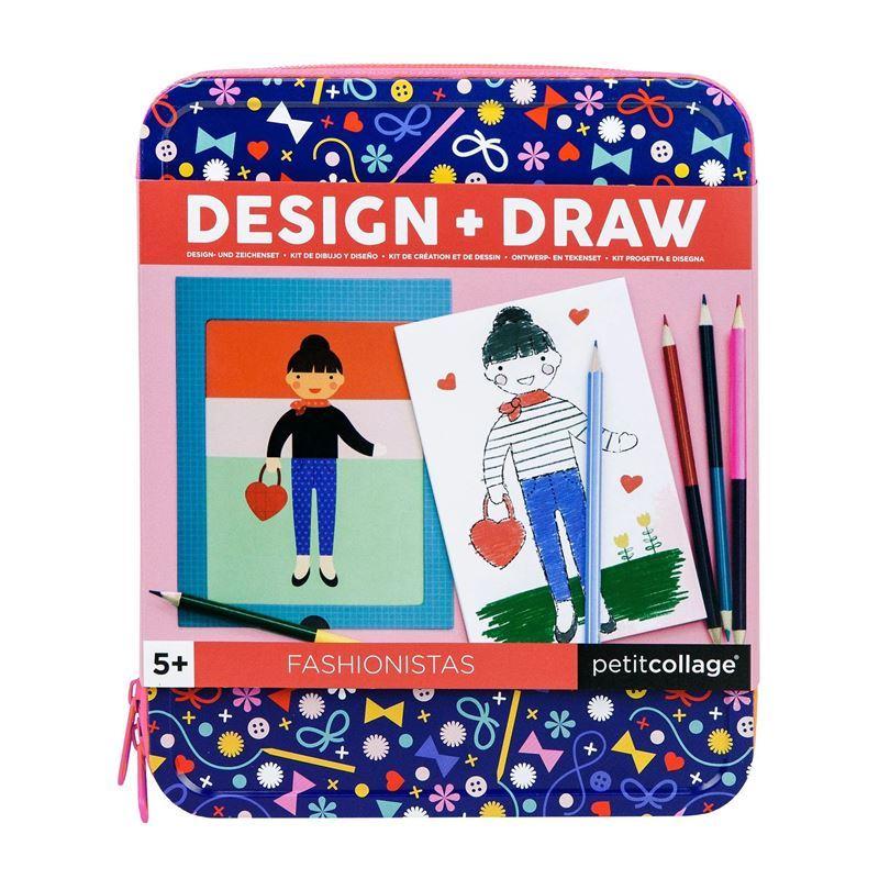 Petit Collage – Design & Draw – Fashionistas