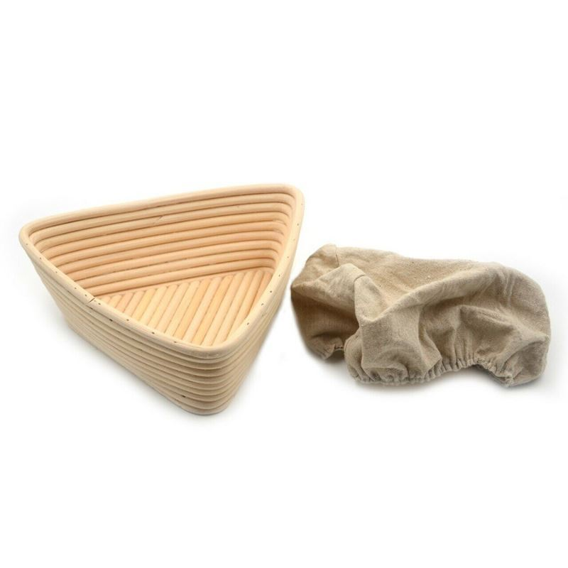 Brunswick Bakers – Triangle Banneton 23cm WITH LINING