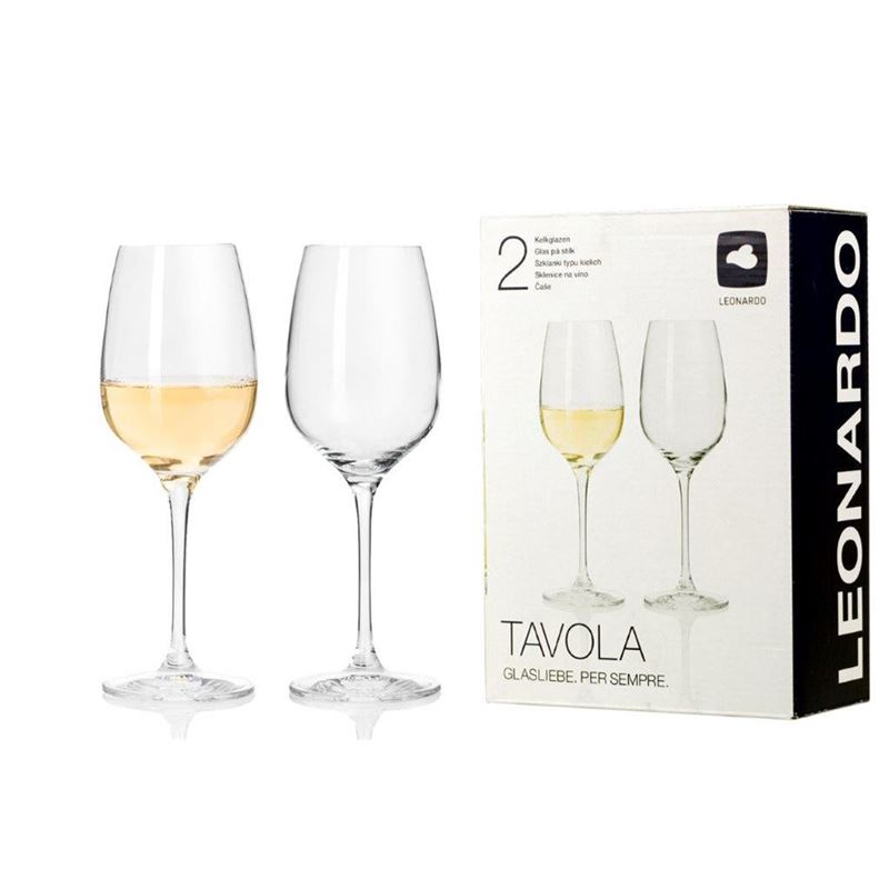 Leonardo – Tavola White Wine Glass 350ml Set of 2 (Made in Europe)