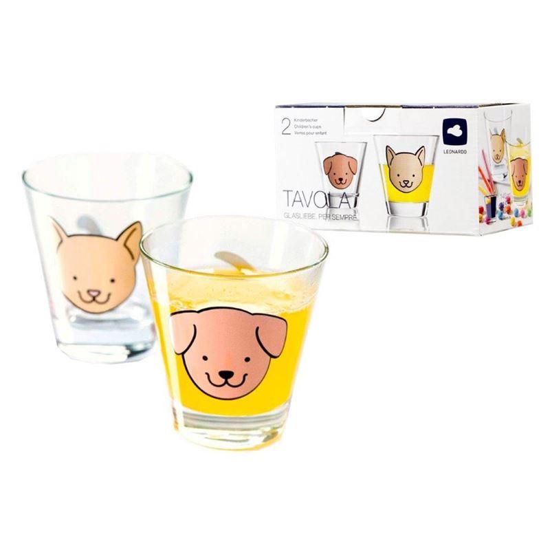 Leonardo – Tavola Children's Glass Cups 225ml Set of 2